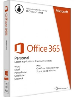 Phần mềm Office 365 Personal 32B/64 SuBscr 1YR AP AC EM Medialess (QQ2-00036)