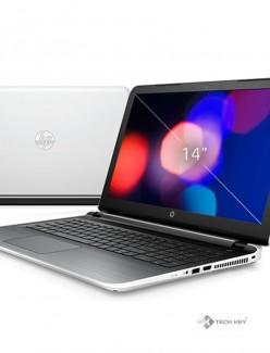 Máy xách tay Laptop HP 14-ab114TU (P3V21PA) (Trắng)