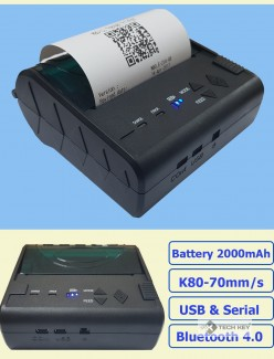 MÁY IN BILL KHÔNG DÂY MINI PRINTER POS-8003DD