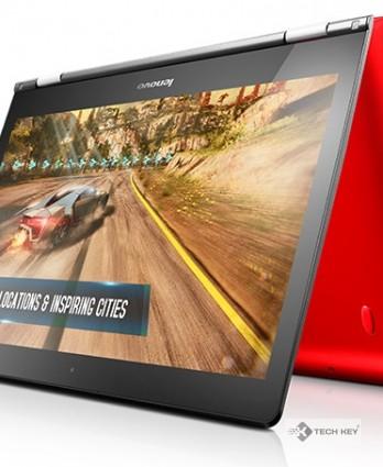 Máy xách tay Laptop Lenovo YoGa500 14-80N400JVVN (Đỏ)