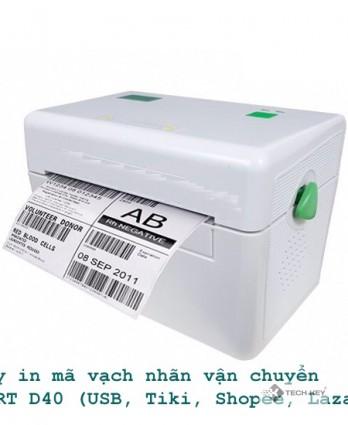 MÁY IN MÃ VẠCH APRT D40B (BLUETOOTH + USB )